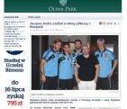 Jacques Andre i piłkarze z Hiszpanii